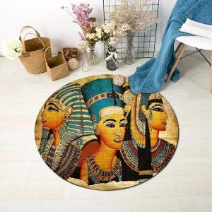 Runder Teppich <br> Ägypten