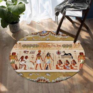 Runder Teppich <br> Antikes Ägypten