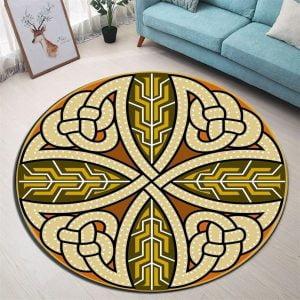 Runder Teppich <br> Antikes Design