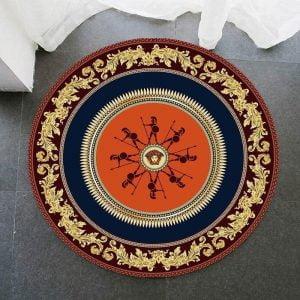 Runder Teppich <br> Antikes Griechenland