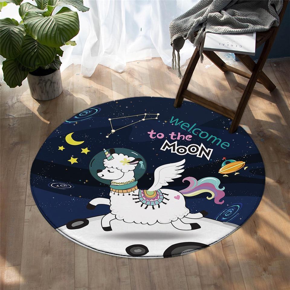 Runder Teppich  <br> Astronaut