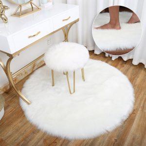 Runder Teppich <br> Badezimmer
