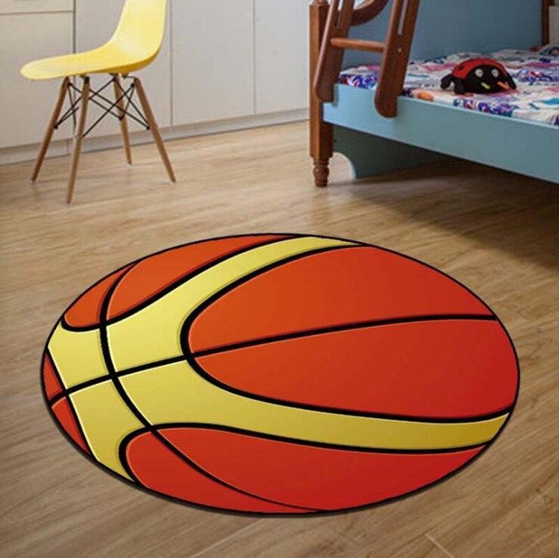 Runder Teppich <br> Basketball