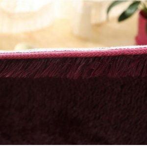 Runder Teppich <br> Bordeaux