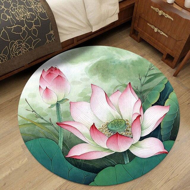 Runder Teppich <br> Chinesisch