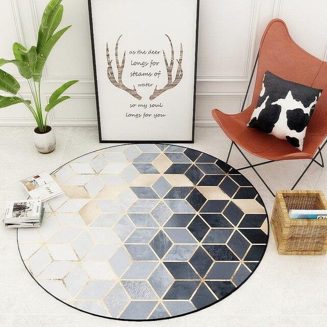 Runder Teppich <br> Das Kolossale