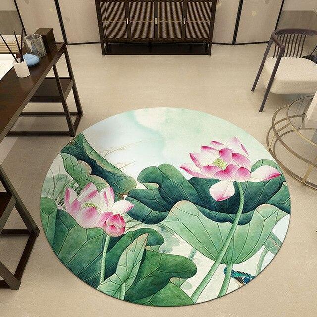 Runder Teppich <br> Dekoration