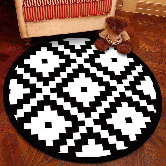 Runder Teppich <br> Der Gigantische