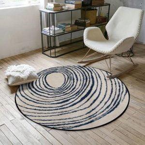 Runder Teppich <br> Der Riese