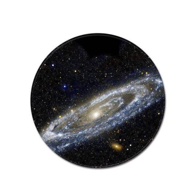 Runder Teppich <br> Galaxie