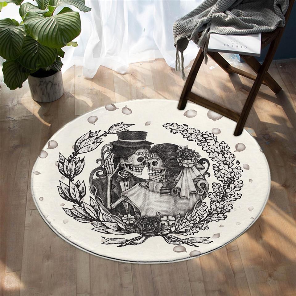 Runder Teppich <br> Gotisch