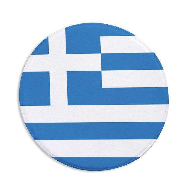 Runder Teppich <br> Griechenland