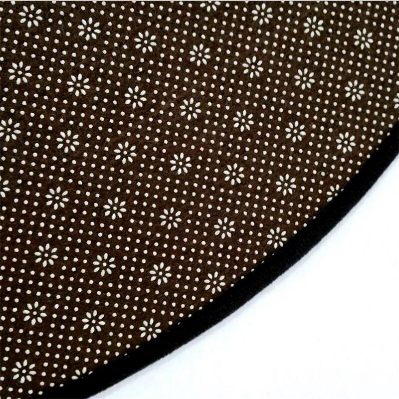 Runder Teppich <br> Großzügiges Mandala