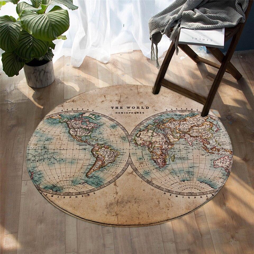 Runder Teppich <br> Hemisphären