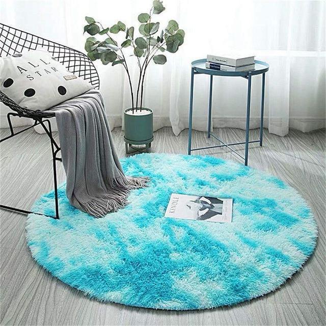 Runder Teppich <br> Himmelsfell