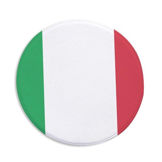 Runder Teppich <br> Italienisch