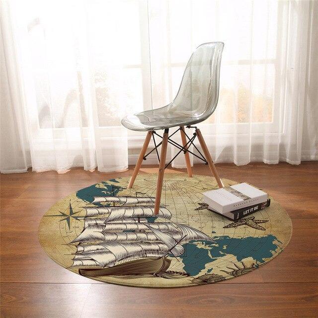 Runder Teppich <br> Jugendzimmer