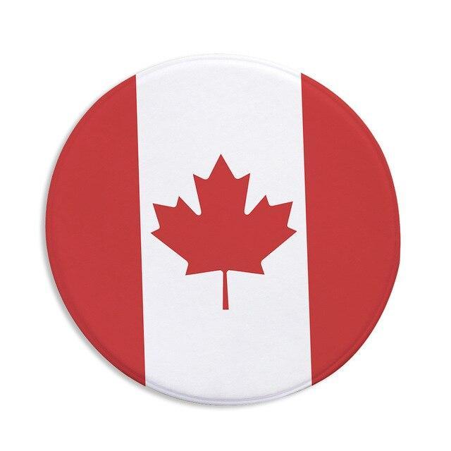 Runder Teppich <br> Kanada