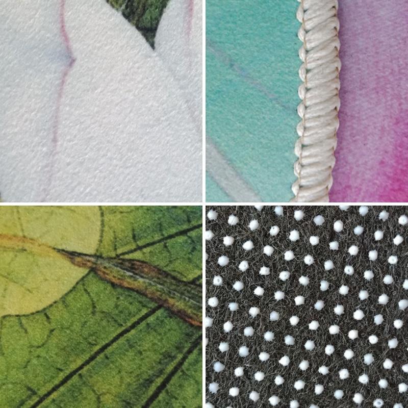 Runder Teppich <br> Lotosblüte