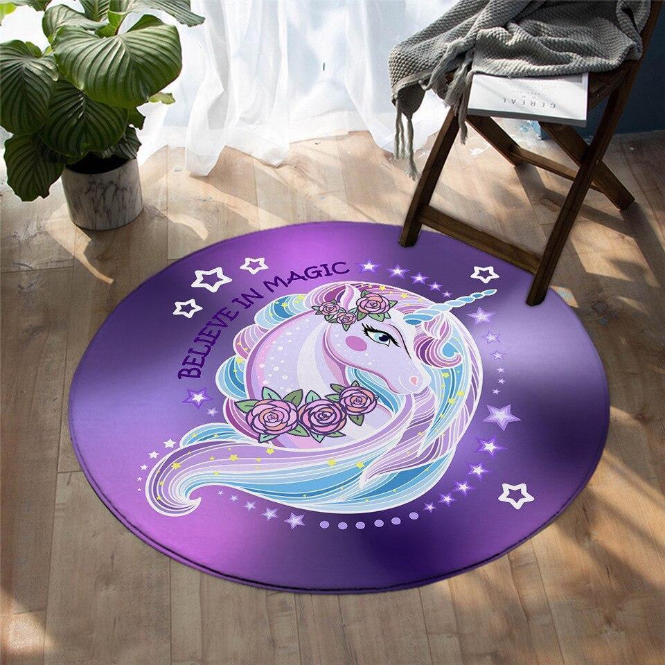 Runder Teppich <br> Magisch