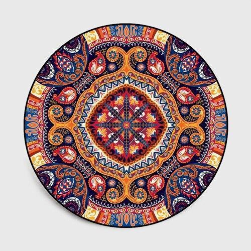 Runder Teppich <br> Marokko