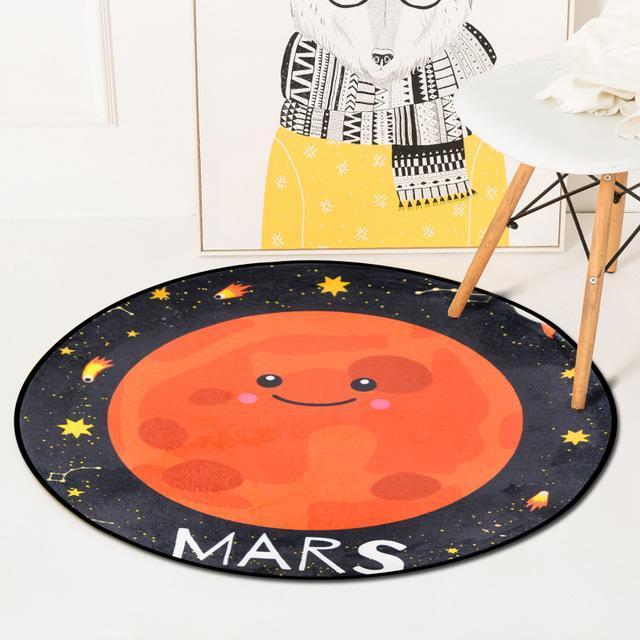 Runder Teppich <br> Mars