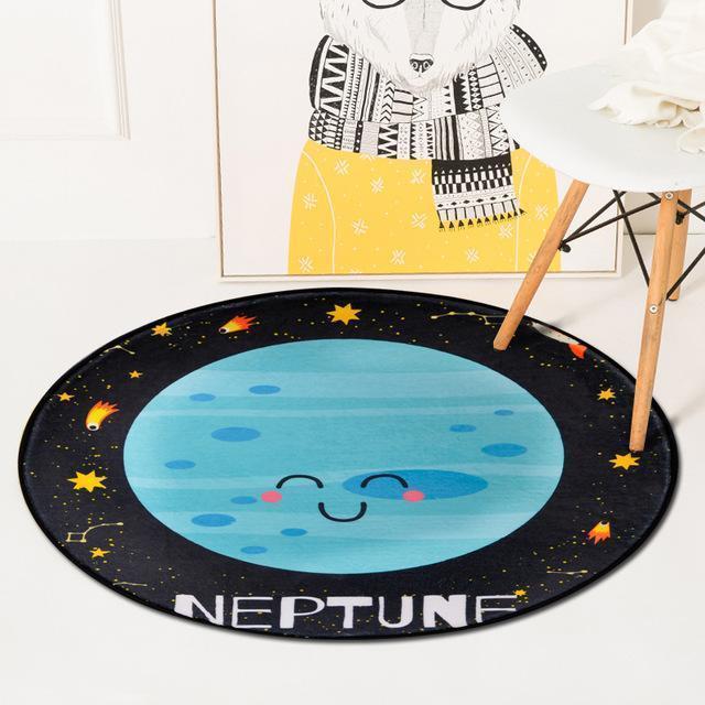 Runder Teppich <br> Neptun