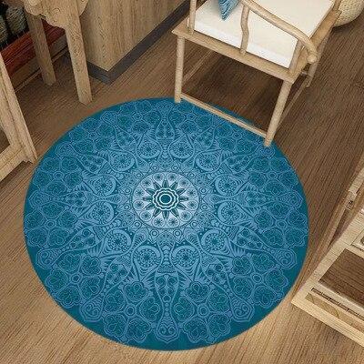 Runder Teppich <br> Pastell