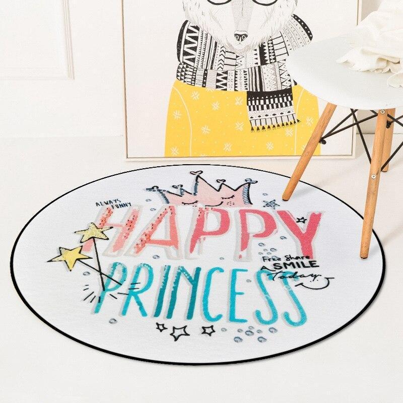 Runder Teppich  <br> Prinzessin