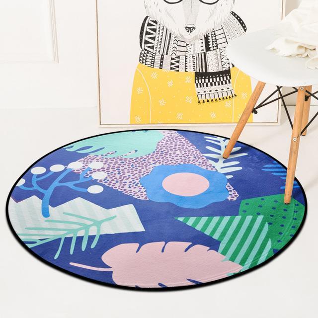 Runder Teppich <br> Runder Tisch