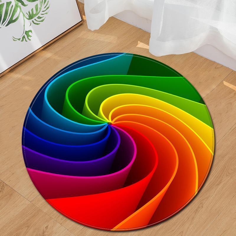 Runder Teppich <br> Spirale
