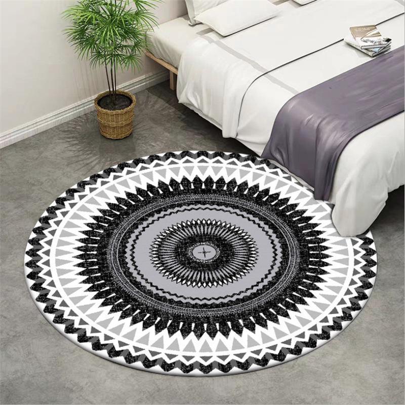 Runder Teppich <br> Stammartig