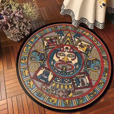 Runder Teppich <br> Totem