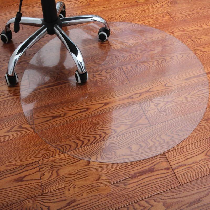Runder Teppich <br> Transparent Schutz
