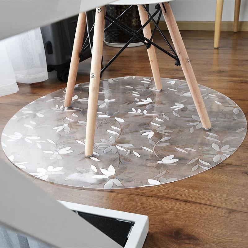 Runder Teppich <br> Transparent