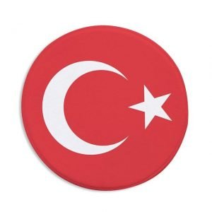 Runder Teppich <br> Türkisch