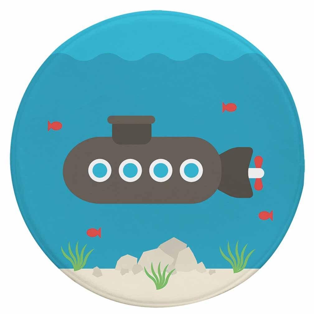 Runder Teppich <br> U-Boot