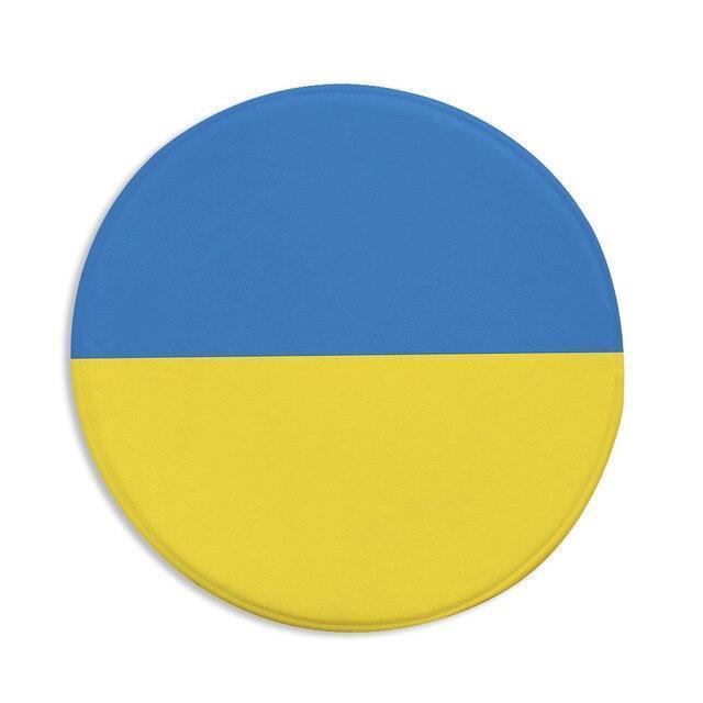 Runder Teppich <br> Ukraine