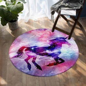 Runder Teppich <br> Universum
