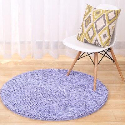 Runder Teppich <br> Weich